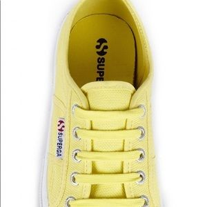 Superga yellow 2750 Cotu Classics sz 37.5